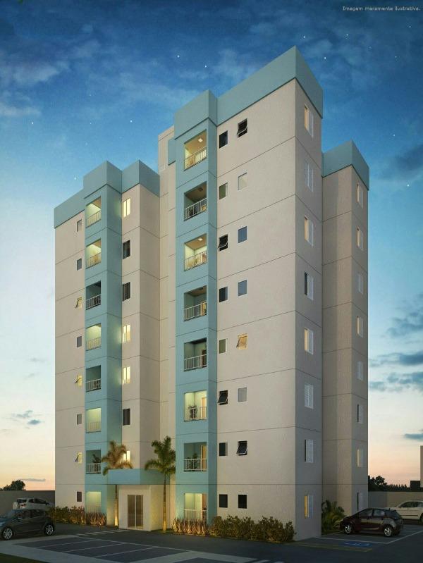 apartamento a venda no residencial orquídeas, jardim leocádia, sorocaba -sp - ap00162 - 34410303