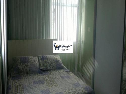 apartamento a venda rio vermelho salvador 2 quartos sendo uma suite, sala, dependência, varanda, área de serviço, cozinha, banheiros, 1 vaga, 73 m². - ap01169 - 32646964