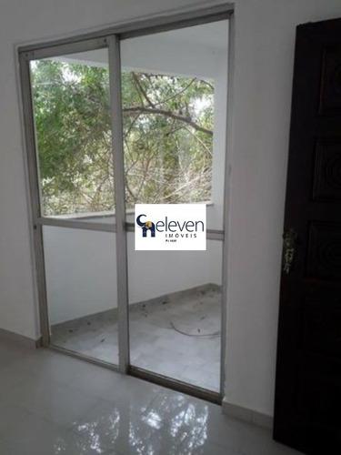 apartamento a venda são joão feira de santana com 3 quartos, varanda, 2 salas, 2 banheiros, 2 vagas, 90 m². - ap01076 - 32577262