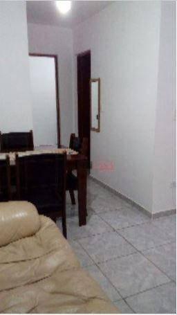 apartamento á venda; vila cristina; ferraz de vasconcelos; 2 dorm.; 1 vaga. - ap3299