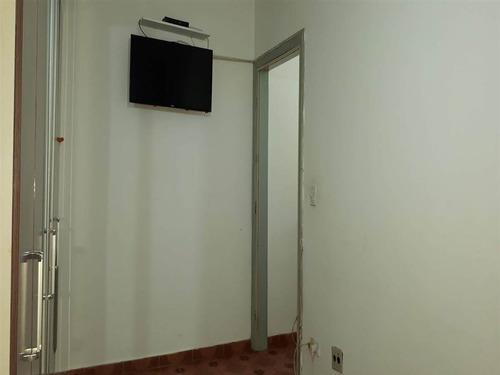 apartamento a venda,1 dormitório, vila tupi, praia grande sp - em120