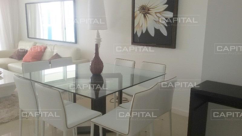 apartamento alquiler temporario y venta  dos dormitorios en playa mansa, punta del este-ref:28565