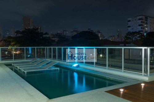 apartamento altíssimo padrão à venda, brooklin, são paulo. - ap0191