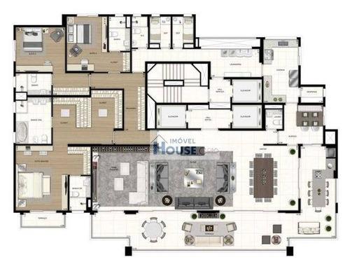 apartamento altíssimo padrão à venda, moema, são paulo. - ap0096