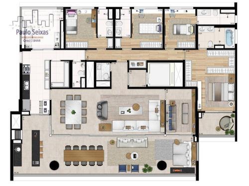 apartamento alto luxo - ap0096