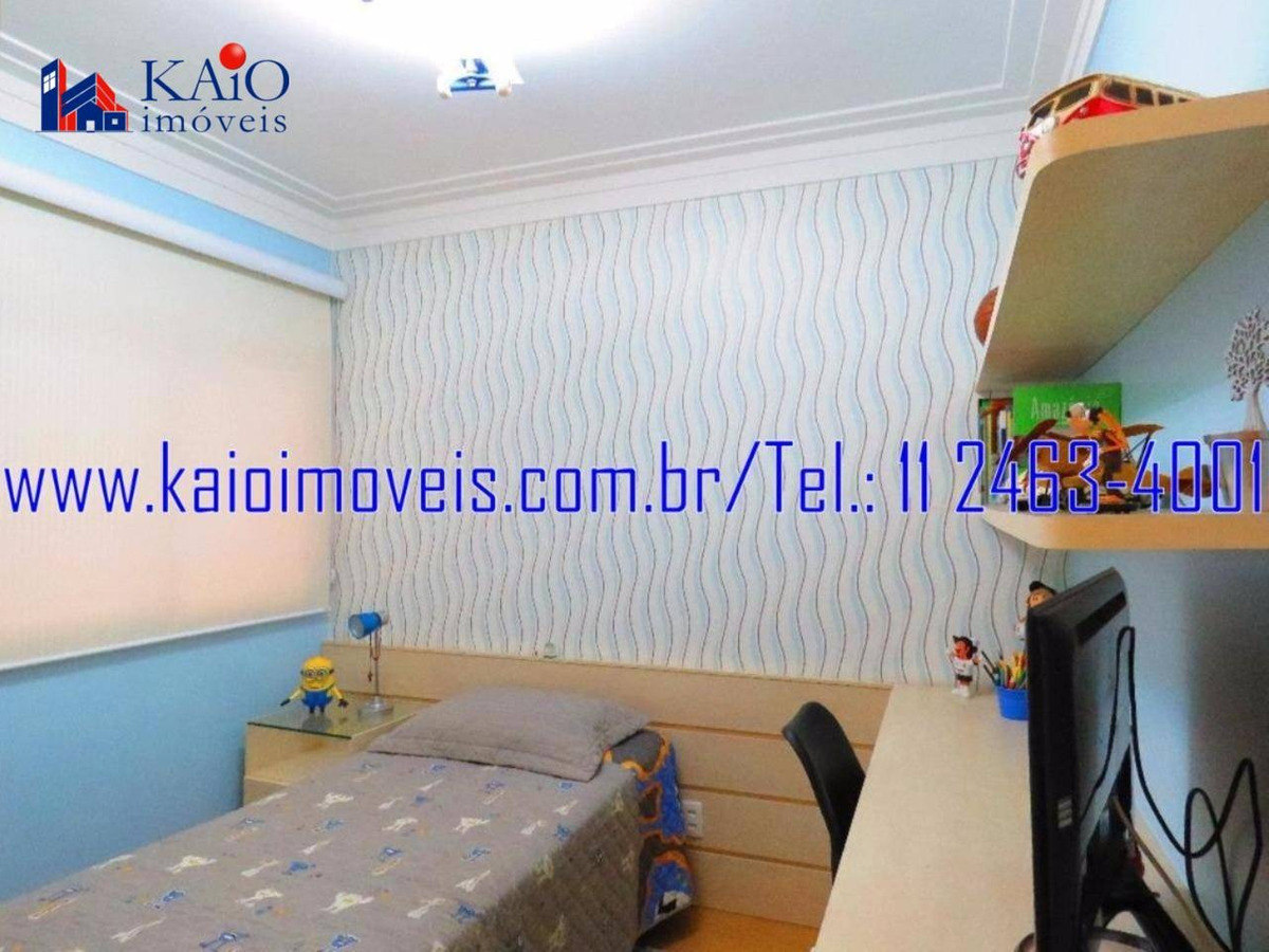 apartamento alto padrão 132m² mobiliado 3 suítes 2 vagas