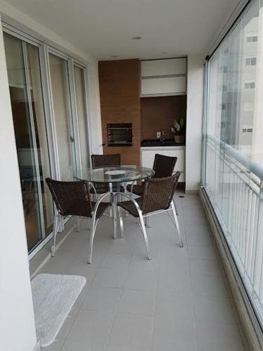 apartamento alto padrão- 2 suites- santo amaro- perto estação  - 586 loc