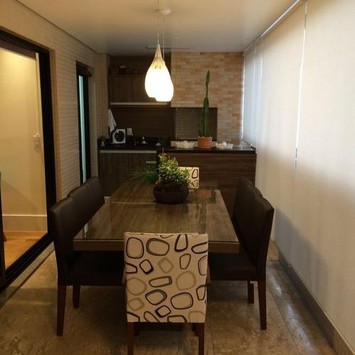 apartamento alto padrão. 3 suítes, 4 vg. estuda imóvel menor