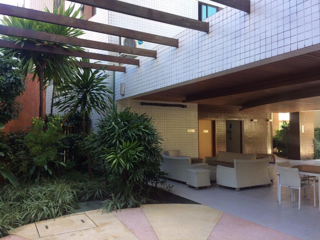 apartamento alto padrão com 3 dormitórios à venda, 140 m² por r$ 1.150.000 - madalena - recife/pe - ap1816