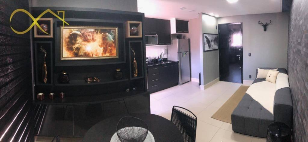 apartamento alto padrão conceito flat campinas - ap0816