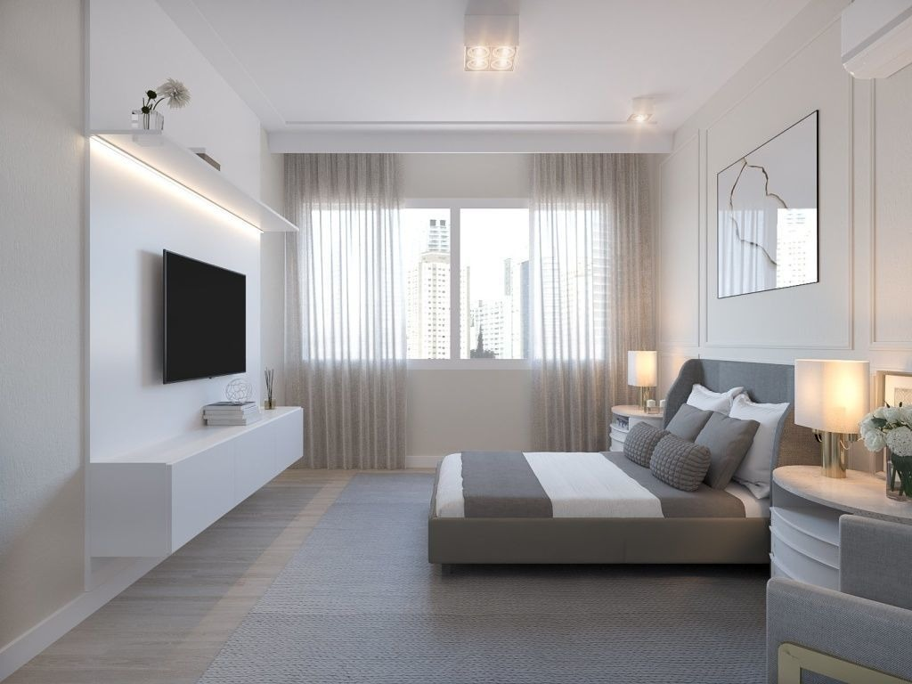 apartamento alto padrão nos jardins (sem mobília) - sf28374