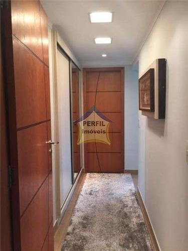 apartamento alto  padrão para venda  em santo andré - 3123