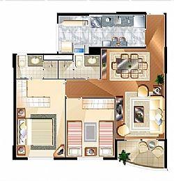 apartamento alto padrão tatuapé 2 vagas lado a lado.
