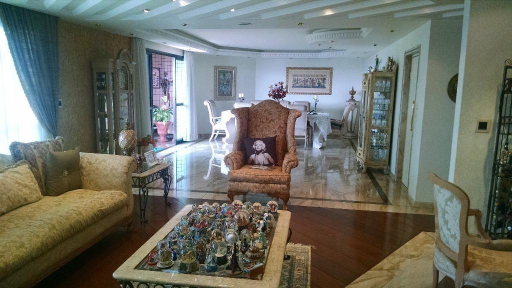apartamento alto padrão à venda, centro, guarulhos. - ap0960