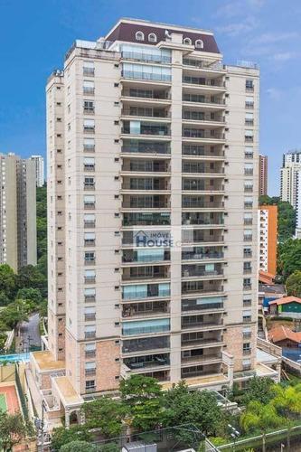 apartamento alto padrão à venda, morumbi, são paulo. - ap0072