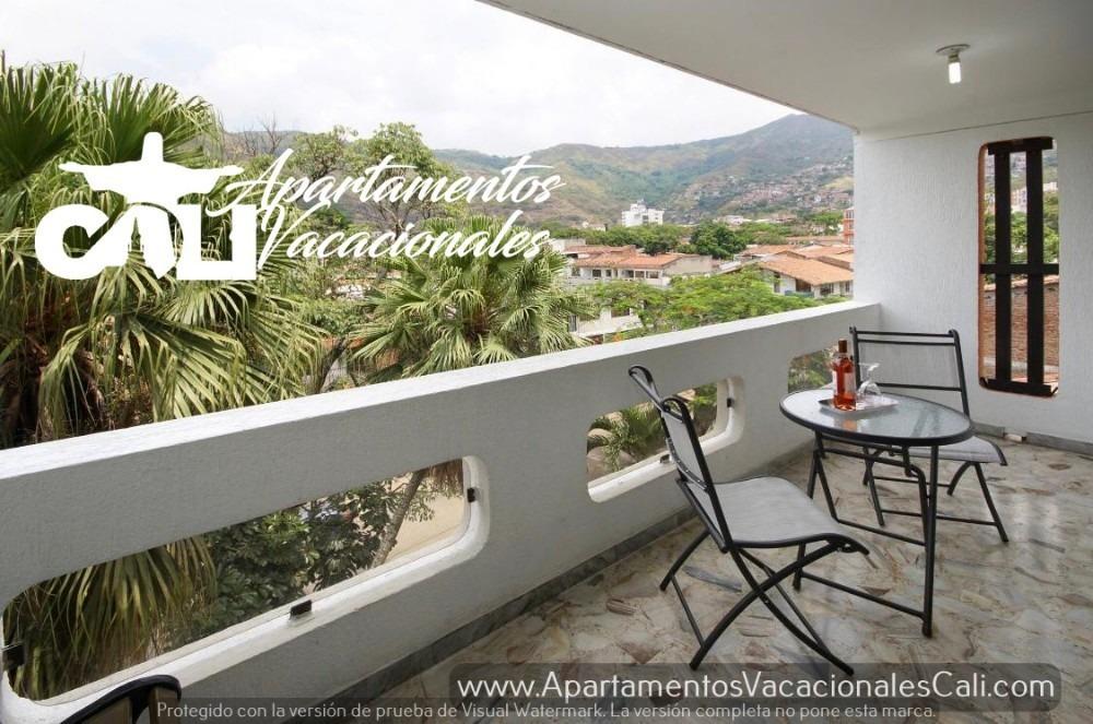 apartamento amoblado en cali - colombia