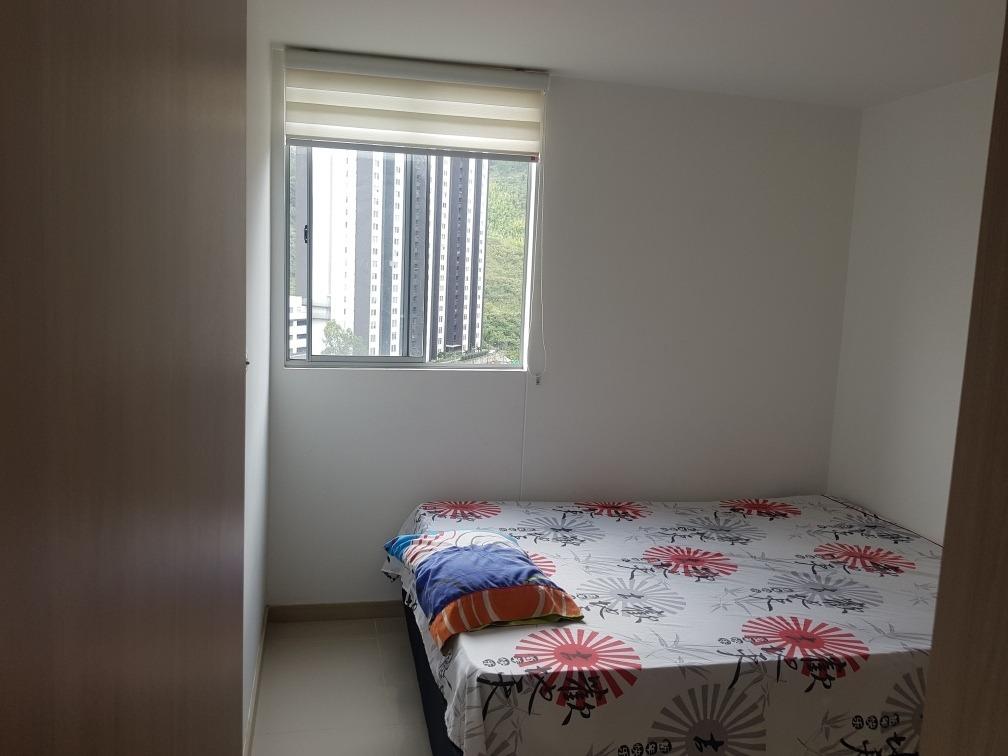 apartamento amoblado en medellin-bello, cabañas.