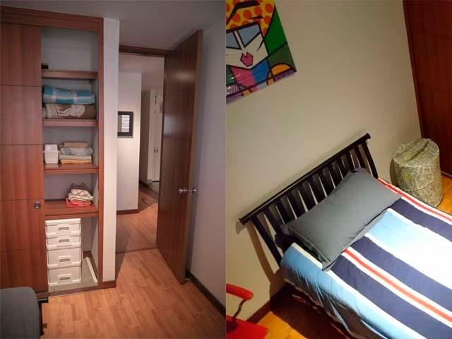 apartamento amoblado para más de un mes
