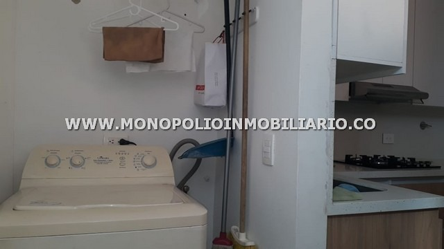 apartamento amoblado renta villagrande envigado cod: 12403