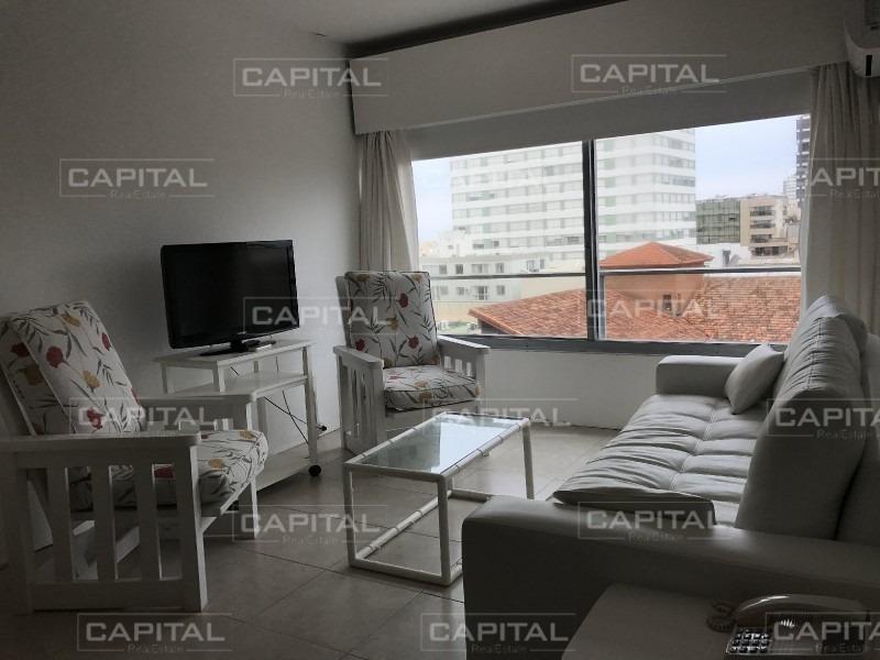 apartamento amplio punta del este santos dumont 1 dormitorio y 1/2-ref:26481