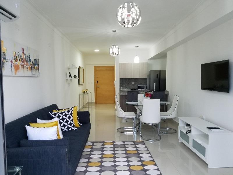 apartamento amueblado en alquiler santo domingo