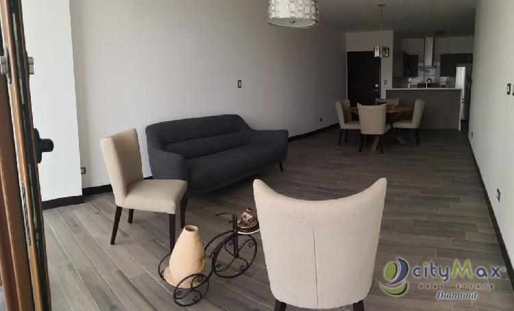 apartamento amueblado en renta zona 16