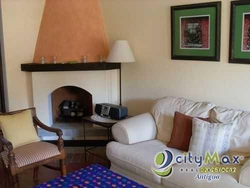 apartamento amueblado venta en antigua guatemala - pma-026-06-12