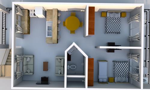 apartamento amueblado villas nacazcol no 1011