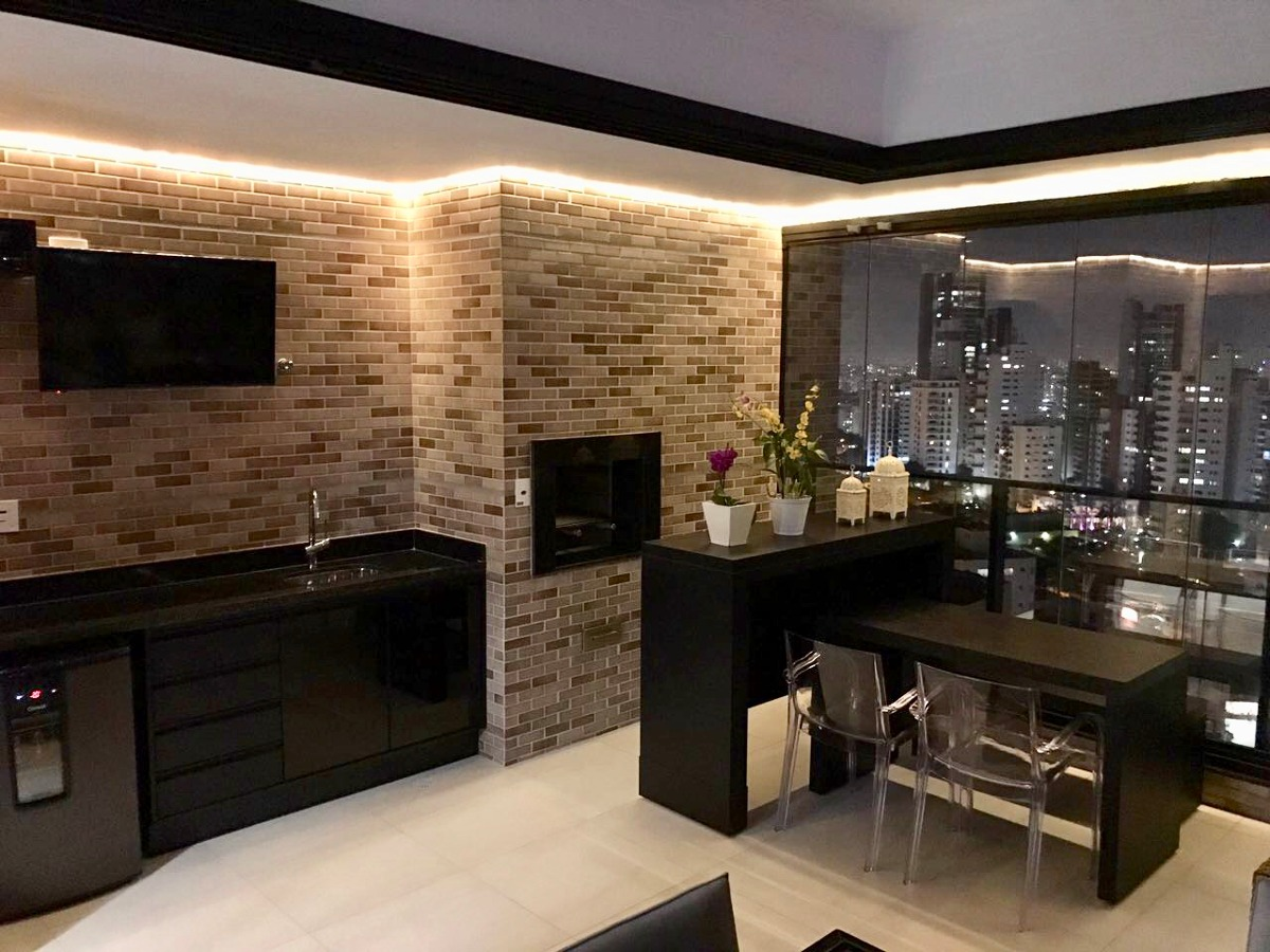 apartamento anália franco 186m² terraço gourmet