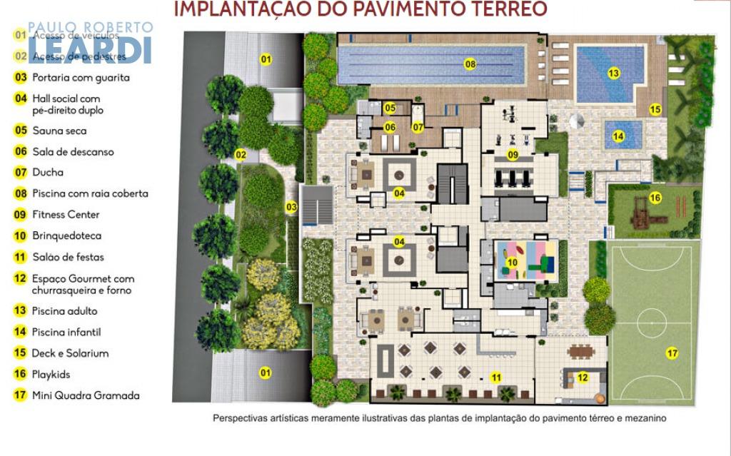 apartamento anália franco - são paulo - ref: 545991