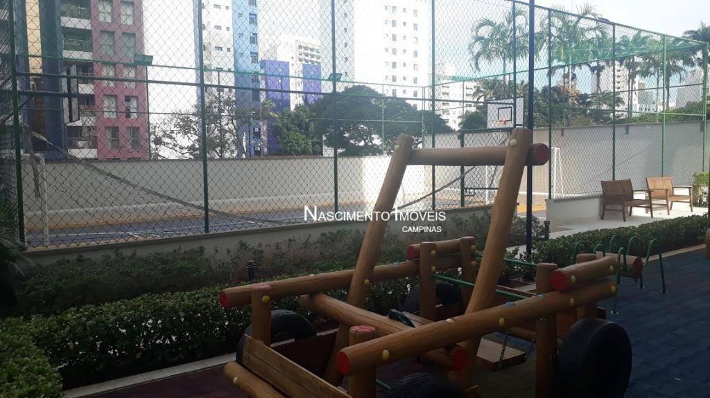 apartamento andar alto, com 3 dormitórios à venda, 96 m² por r$ 738.000 - jardim guanabara - campinas/sp - ap0578