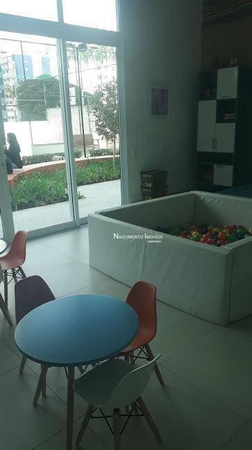 apartamento, andar alto com 3 dormitórios à venda, 96 m² por r$ 788.000 - jardim guanabara - campinas/sp - ap0579