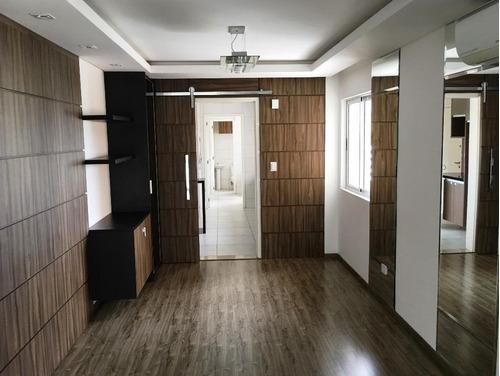 apartamento ao lado da igreja do cabral com 3 dormitórios à venda, cabral, curitiba. - ap0516