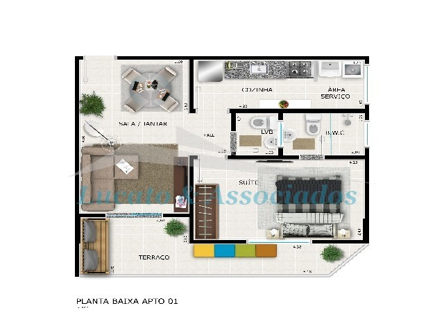 apartamento - ap00158 - 2506834
