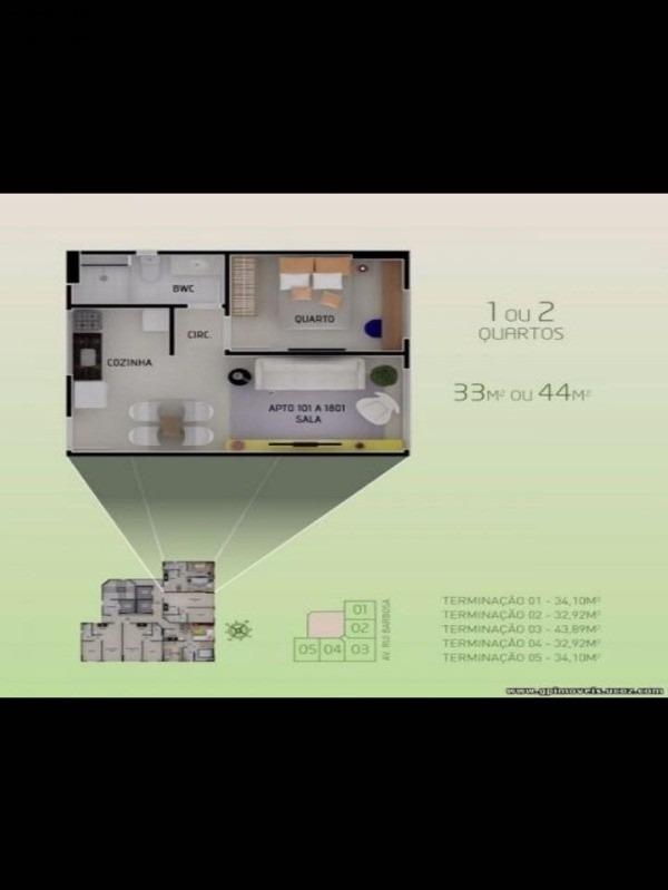apartamento - ap00266 - 34372431