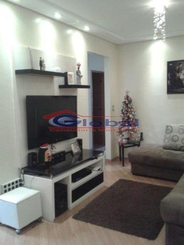 apartamento - bairro campestre - santo andré - gl37819