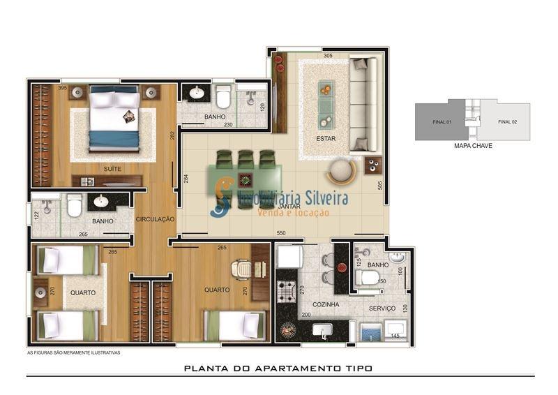 apartamento bairro paraiso / santa efigenia - 4392