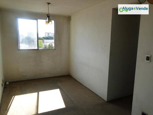 apartamento barato em guarulhos à venda, 60 m² por r$ 200.000 - torres tibagy - guarulhos/sp - ap0060