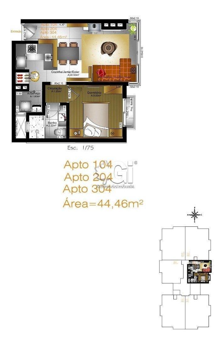 apartamento - bavaria - ref: 3591 - v-gi3597