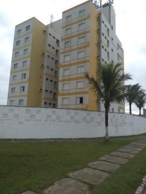 apartamento beira mar em itanhaém, 1 dormitório - 5374/pg