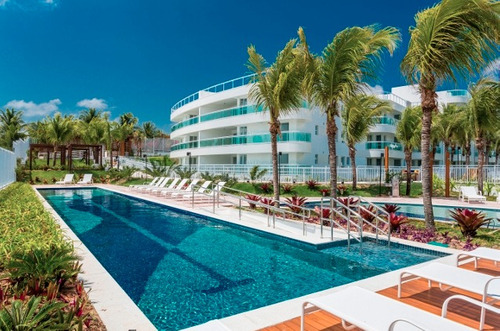 apartamento beira mar, residencial inmare bali 82m²