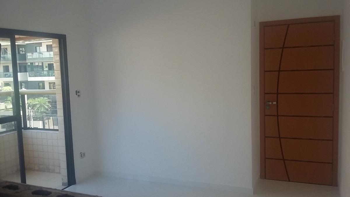 apartamento boqueirão, 2 quartos, praia grande, ótimo local!