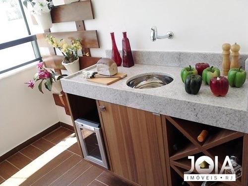 apartamento bourgogne - 3 quartos - freguesia - 190