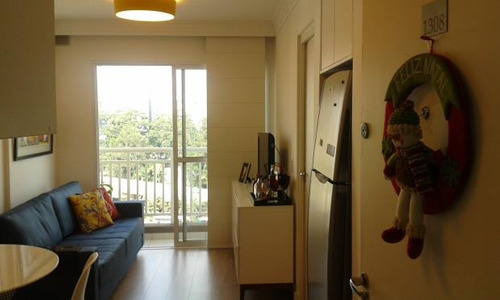 apartamento bras 1 dormitórios 1 banheiros 31 m2 - 2165