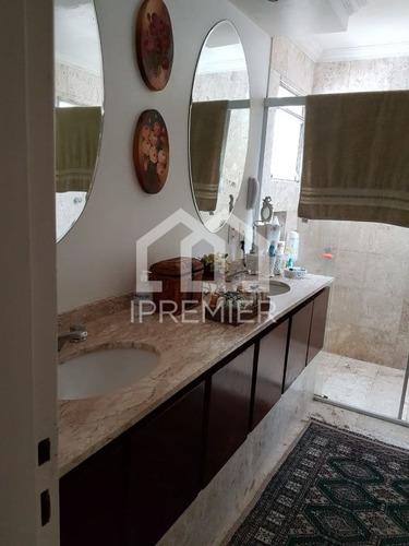 apartamento brooklin 222m² 4 suites 4 vagas - ap418
