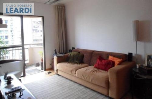 apartamento brooklin  - são paulo - ref: 439307