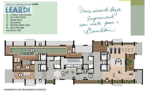 apartamento brooklin  - são paulo - ref: 478293