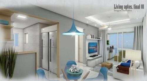 apartamento  b.santa eugenia, em mongaguá, ref. c0296 l c