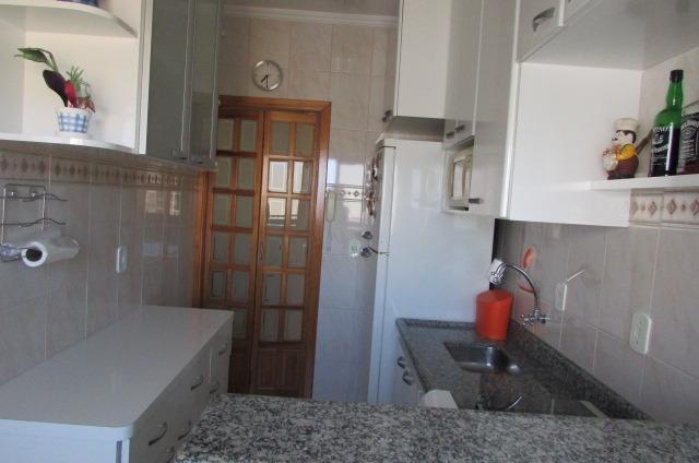 apartamento c/ suite mobiliado prédio lazer  centro caiçara