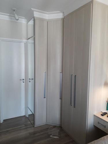 apartamento c/ varanda gourmet - jd. anália franco - 2830-1